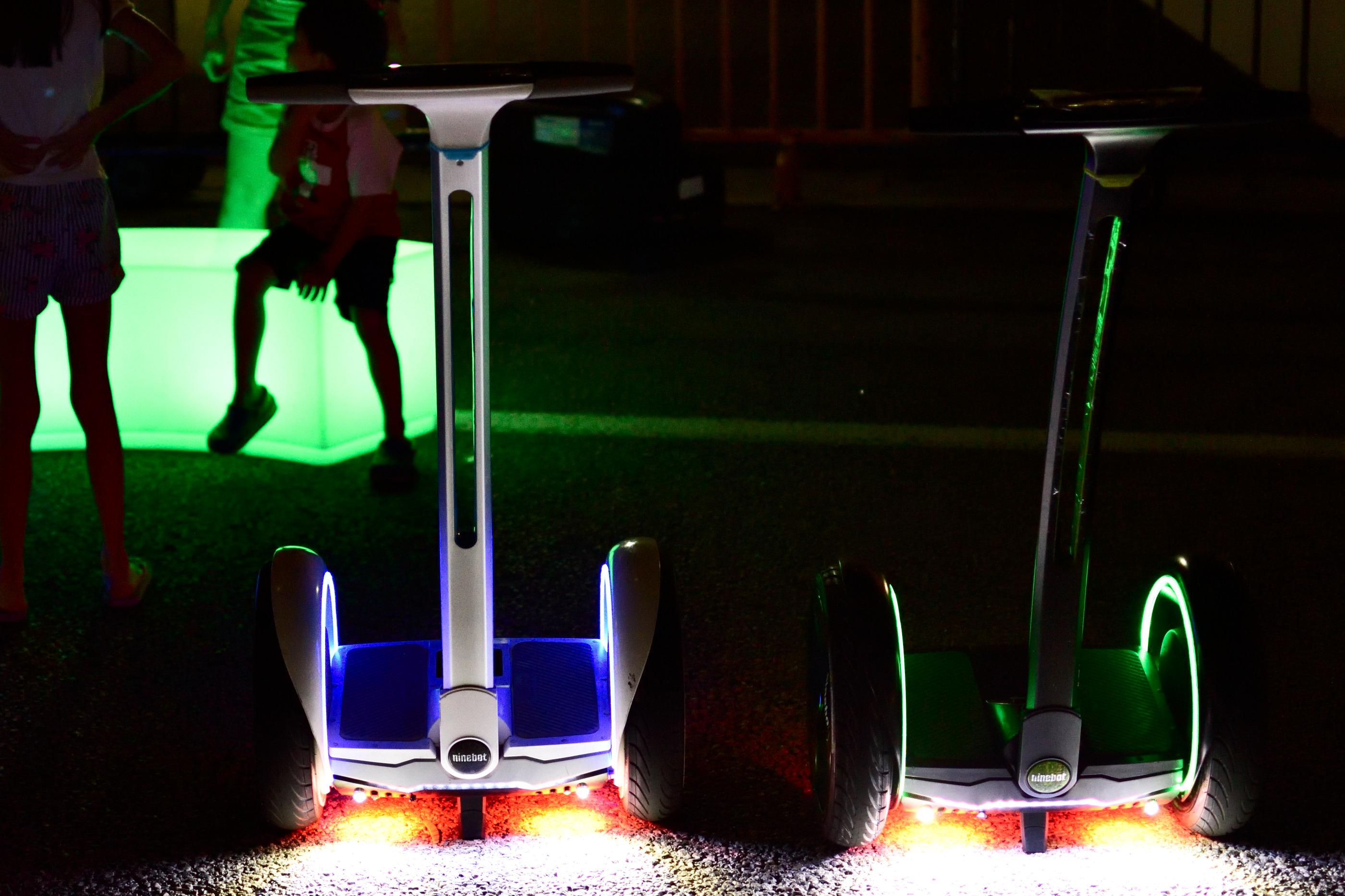 Ninebot rides.