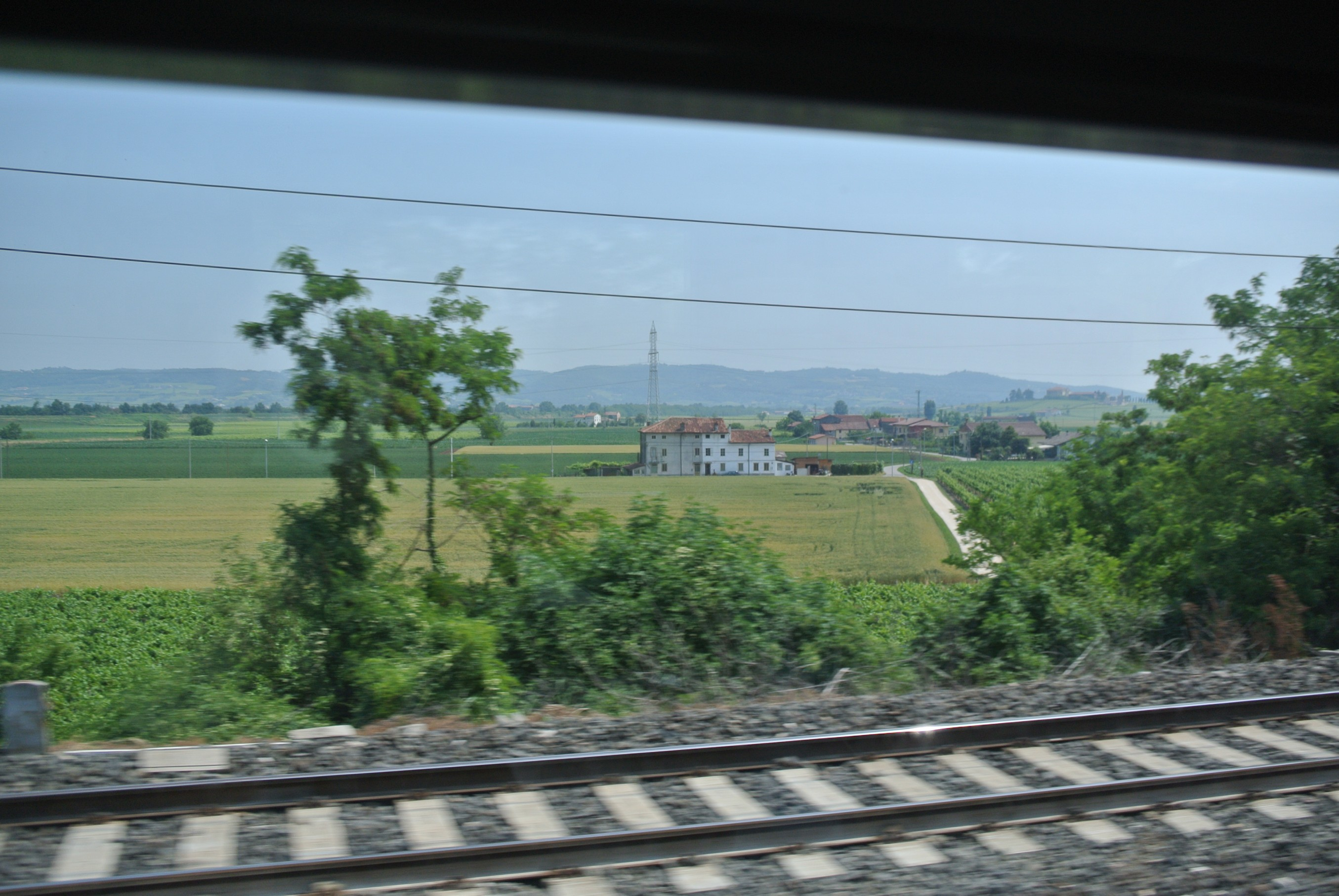 A view from the train.