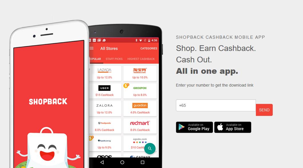 The ShopBack App.