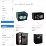 Hachi even sells safes...