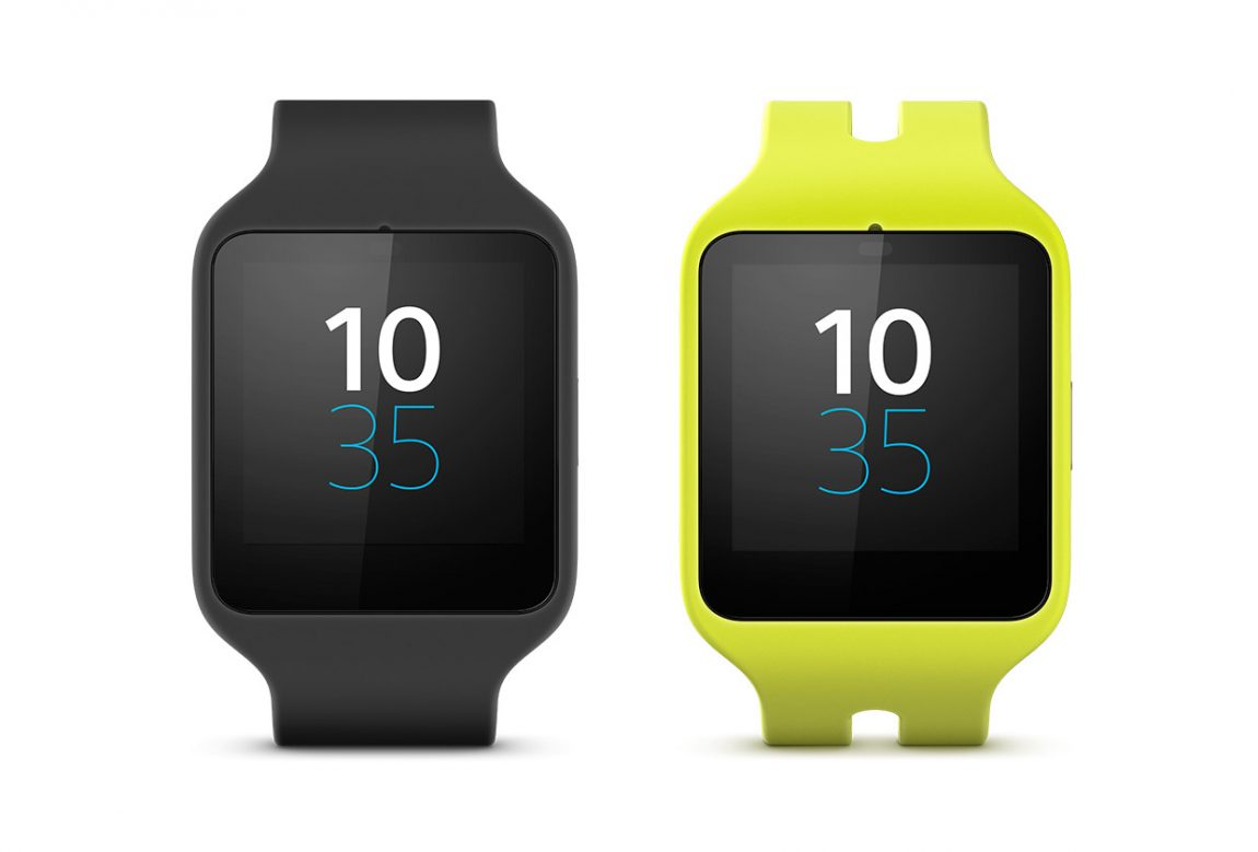 The Sony SmartWatch 3.